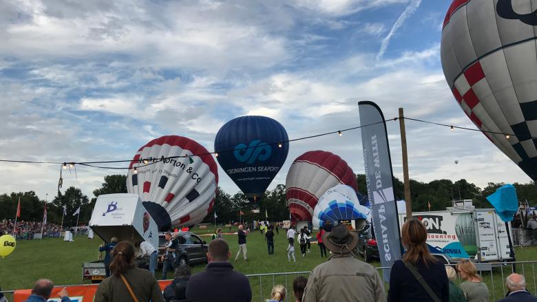 Ballonfestival Joure Überblick