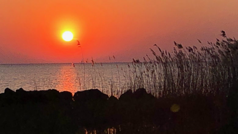 Sonnenuntergang IJsselmeer