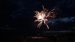 Feuerwerk und Show am Strand von Makkum 2019
