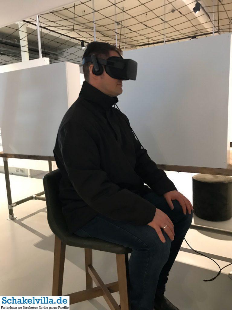 virtuel reality im Wadden Center am Abschlussdeich - Schakelvilla Ferienhaus für Familien am IJsselmeer in Makkum