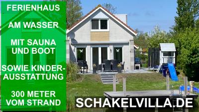 familienfreundliches Ferienhaus Schakelvilla in Makkum am IJsselmeer