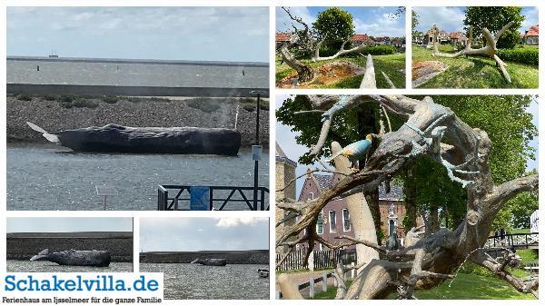 11 Fountainen Harlingen und Hindeloopen in Friesland - Schakelvilla Ferienhaus am IJselmeer