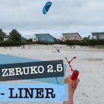 ORAO ZERUKO 2.5 - 4-Leiner Lenkmatte (Lenkdrache) am Strand von Makkum - Schakelvilla - Ferienhaus mit Sauna und Ruderboot am IJsselmeer in Makkum